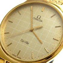 Omega De Ville Steel 31mm Gold No numerals