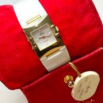 Omega Constellation Желтое золото 20mm Перламутровый Без цифр
