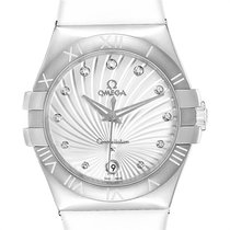 Omega Constellation Quartz Acier 35mm Nacre