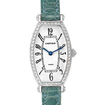Cartier Tonneau WE400131 Very good White gold 39.2mm Manual winding