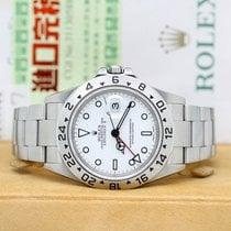Rolex Explorer II Steel 40mm White No numerals