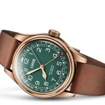 Oris Big Crown Pointer Date Bronce 40mm Verde Árabes España, ESPAÑA