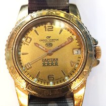 Vostok pre-owned Manual winding 37mm Gold Mineral Glass