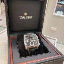 TAG Heuer Monaco Calibre 12 Steel 40.5mm Black