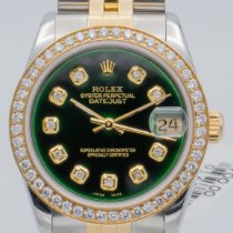 Rolex Lady-Datejust Gold/Steel 31mm Green No numerals United States of America, Georgia, ATLANTA