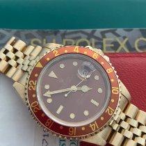 Rolex GMT-Master II 16718 Velmi dobré Žluté zlato 40mm Automatika