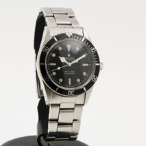 Rolex 6536 Сталь 1954 Submariner (No Date) 37mm подержанные