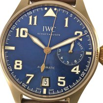 IWC Big Pilot Rose gold 46mm Blue Arabic numerals