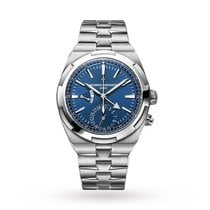 Vacheron Constantin Overseas Dual Time Steel 41mm Blue No numerals United States of America, Iowa, Des Moines