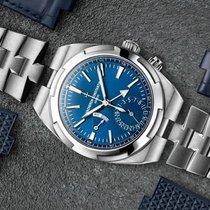 Vacheron Constantin Overseas Dual Time Steel 41mm Blue No numerals