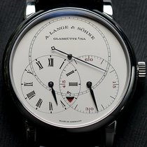 A. Lange & Söhne Platinum Manual winding Silver 40mm pre-owned Richard Lange