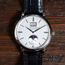 A. Lange & Söhne Saxonia White gold 40mm Silver United States of America, California, Irvine