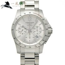 Longines Conquest Steel 41mm Silver