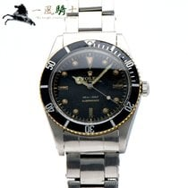 Rolex Submariner (No Date) Stål 37mm Sort