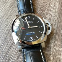 Panerai Steel Automatic Black 44mm pre-owned Luminor 1950