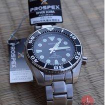 Seiko Prospex Stål 52,6mm Sort Ingen tal