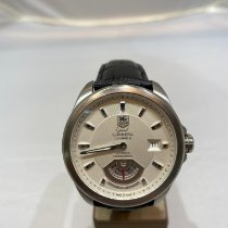 TAG Heuer Grand Carrera Staal 40,5mm Zilver