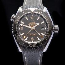 Omega Céramique Remontage automatique Noir Arabes 45.5mm occasion Seamaster Planet Ocean