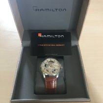 Hamilton Jazzmaster Viewmatic Acier 36mm Transparent France, Pontarlier