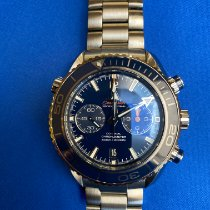 Omega Seamaster Planet Ocean Chronograph 232.90.46.51.03.001 2018 pre-owned