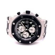 Audemars Piguet Royal Oak Offshore Chronograph Ατσάλι 42mm Μαύρο Αραβικοί