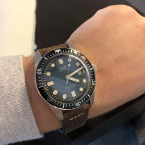 Oris Steel 42mm Automatic Divers Sixty Five pre-owned Canada, Windsor