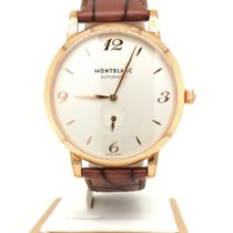 Montblanc Rose gold Automatic White 40mm new Star Classique