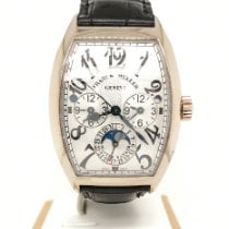 Franck Muller pre-owned Automatic 36mm Silver Sapphire crystal 3 ATM