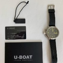 U-Boat pre-owned Automatic 50mm Black Sapphire crystal 10 ATM