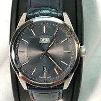 Oris Artix Date Steel 42mm Blue United States of America, Illinois, Stickney