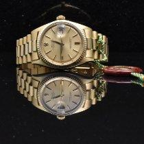 Rolex Datejust Zuto zlato 36mm Zlatan Bez brojeva