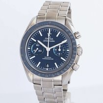 Omega Titanium Automatic Blue No numerals 44.25mm pre-owned Speedmaster Professional Moonwatch