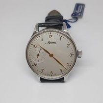 Minerva new Manual winding Small Seconds 43mm Steel Mineral Glass