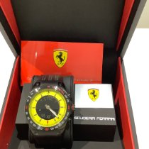 Scalfaro Steel 42mm Quartz Ferrari 03-YW LAP TIME new