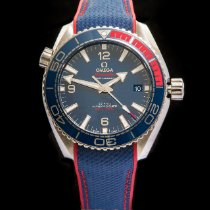 Omega Seamaster Planet Ocean Steel 43.5mm Blue Arabic numerals United Kingdom, Macclesfield
