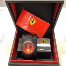 Scalfaro Titane 40mm Quartz Ferrari-01-RD nouveau
