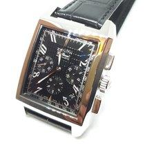 Zenith Port Royal nuevo 2000 Automático Cronógrafo Reloj con estuche y documentos originales 03.0550.400/22