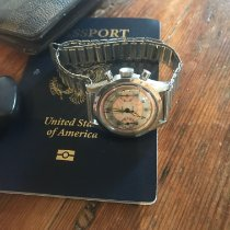 Gallet Steel 34.5mm Manual winding Gallet M30, Clamshell pre-owned United States of America, Connecticut, Fairfield