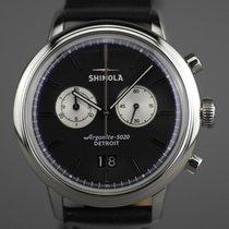Shinola Steel 42mm Quartz S0120089882 new