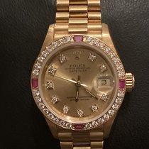 Rolex 69068 Oro amarillo Lady-Datejust 26mm nuevo