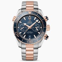 Omega Seamaster Planet Ocean Chronograph nouveau 2020 Remontage automatique Chronographe Montre avec coffret d'origine et papiers d'origine 215.20.46.51.03.001