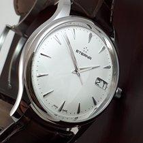 Eterna Vaughan Steel 42mm White
