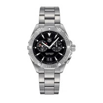 TAG Heuer Aquaracer 300M Steel 40.5mm Black No numerals United States of America, Illinois, Willowbrook