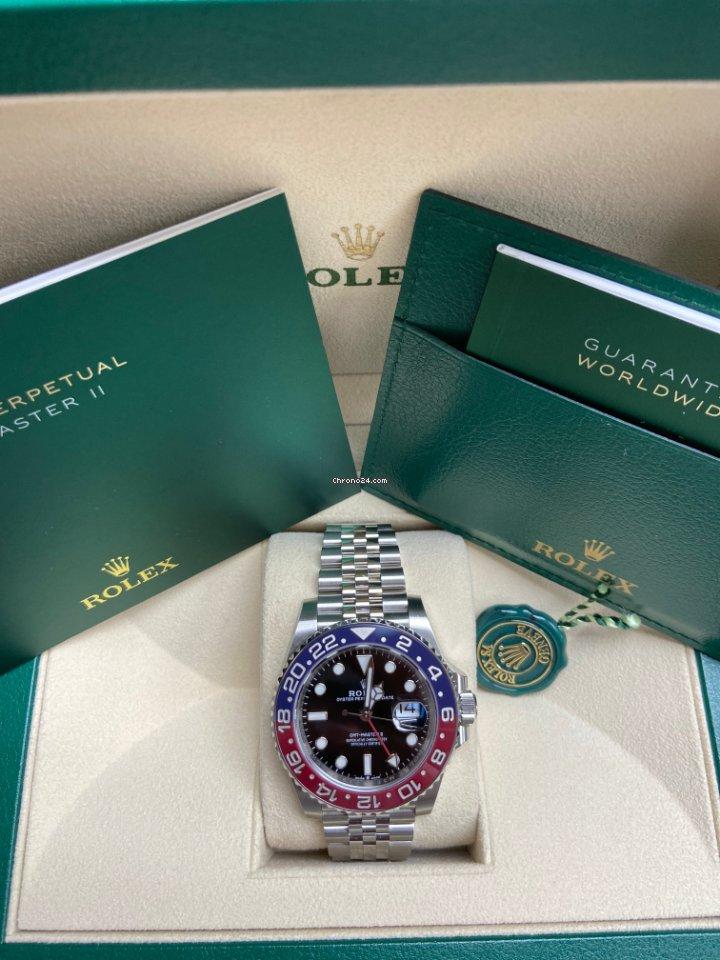 Rolex GMT-Master II 126710BLRO GMT-Master II 2018 2021 new