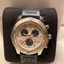 Breitling Colt Chronograph pre-owned 44mm White Chronograph Tachymeter Rubber