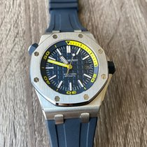 Audemars Piguet Royal Oak Offshore Diver new 2019 Automatic Watch with original box and original papers 15710ST.OO.A027CA.01