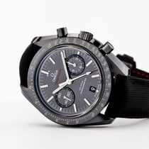 歐米茄 Speedmaster Professional Moonwatch 陶瓷 44.2mm 黑色 無數字