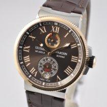 Ulysse Nardin Marine Chronometer Manufacture Steel 43mm Brown Roman numerals United States of America, Ohio, Mason