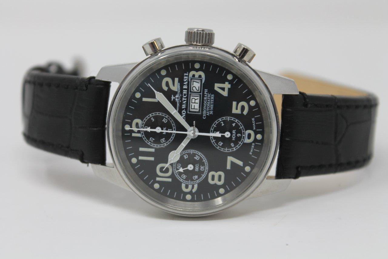 Zeno-Watch Basel OS Pilot 8557TVDD 2000 подержанные