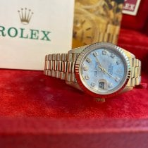 Rolex Lady-Datejust Yellow gold 26mm Gold (solid) No numerals